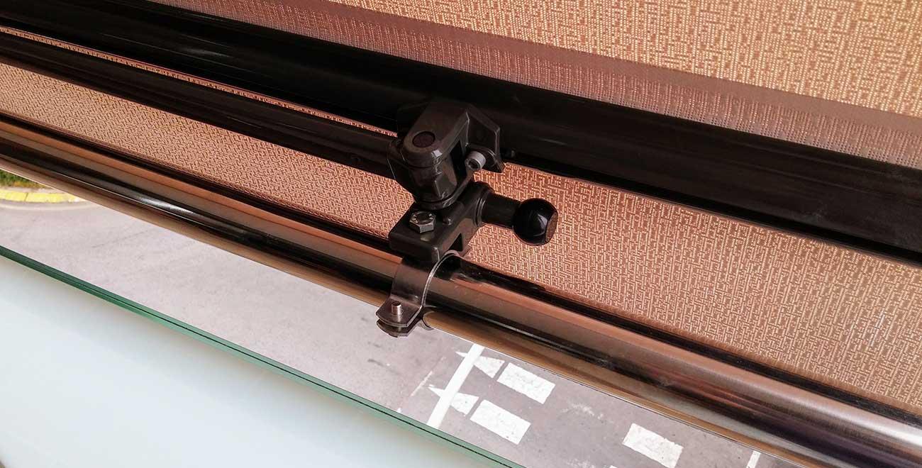 detalle Toldo para Balcones Telon Stor