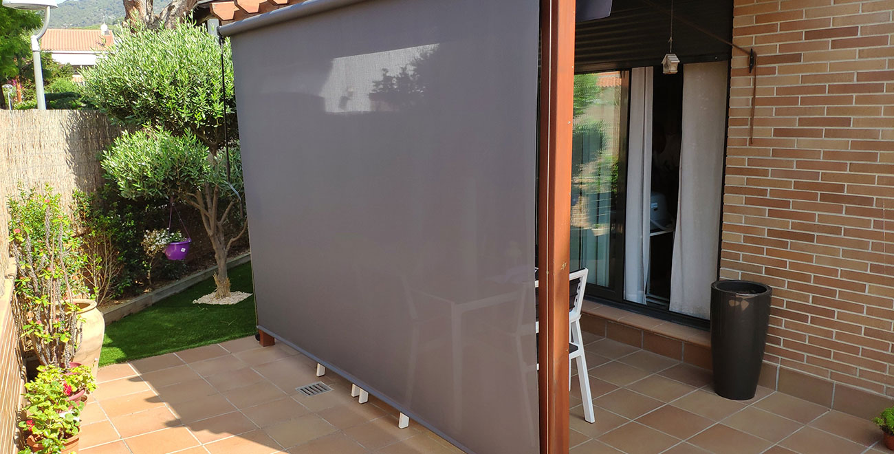 Toldo Vertical cable